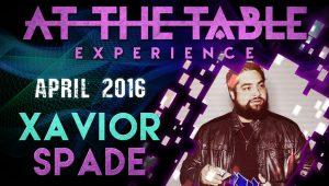 02963-At the Table – Xavier Spade