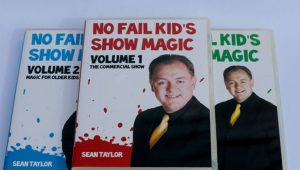 02979-No Fail Kid Magic by Sean Taylor – 3 Vol